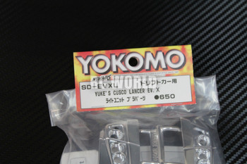 Yokomo 1/10 RC Car LIGHT BUCKETS For YUKES CUSCO LANCER Mitsubishi EVO