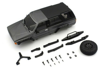 Kyosho RC 1/28 Mini Z TOYOTA 4RUNNER Body Shell Metallic Grey MXB02GM