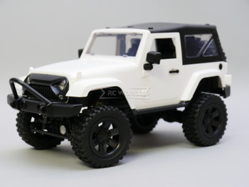 RC Jeep Wrangler Rubicon White