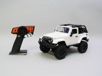 RC 1/14 Jeep Wrangler Rubicon 4x4 *RTR* White Bikini Top
