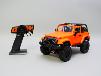 RC Jeep Orange Bikini Top