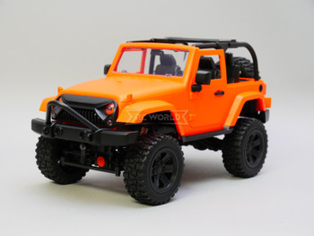 RC 1/14 Jeep Wrangler Rubicon 4x4  Orange