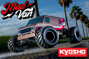 Kyosho Fazer MAD VAN RC Truck 4wd -RTR-