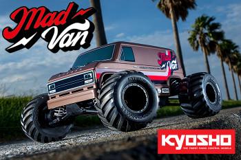 Kyosho Fazer MAD VAN RC Truck 4wd -RTR- 34412T1