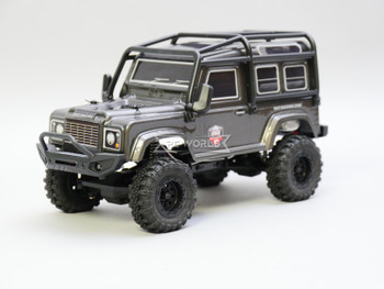 RC 1/24 Micro Land Rover D90 4X4 RC Rock Crawler *RTR* Gray