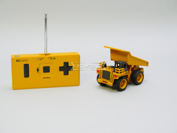 RC Micro 1/64 Construction DUMP TRUCK Micro RC Truck 27MHz