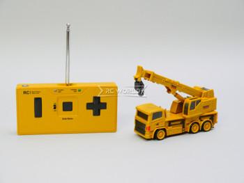 RC Micro 1/64 Construction CRANE Micro RC Truck 27MHz