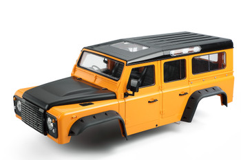 RC 1/10 Land Rover DEFENDER 110 WAGON W/ Interior Hard Body