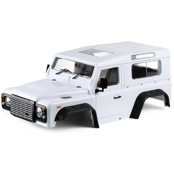 RC 1/10 Land Rover DEFENDER 90 W/ Interior D90 Hard Body