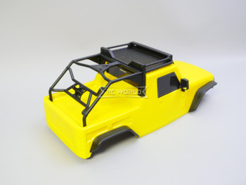 1/10 Jeep  Wrangler Body Shell 2 Door Pick Up 313mm YELLOW