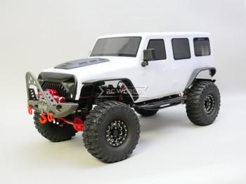 1/10 Jeep  Wrangler Body Shell 4 Door Hard Top 313mm WHITE
