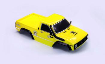 RC Pick Up Truck Body Shell 2 Door YELLOW