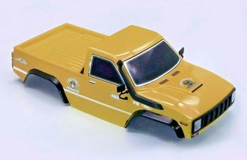 RC Pick Up Truck Body Shell 2 Door Brown