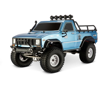 1/10 RC Pick Up Truck Body Shell 2 Door 313mm Blue