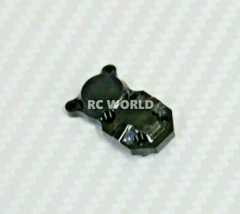 Axial SCX24 Front METAL AXLE COVER Diff Cover Aluminum BLACK