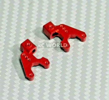 Axial SCX24 Metal Shock Mount Aluminum (2pcs) RED