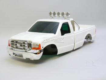 1/10 Ford F350 Pickup Truck Hard Body Shell WHITE