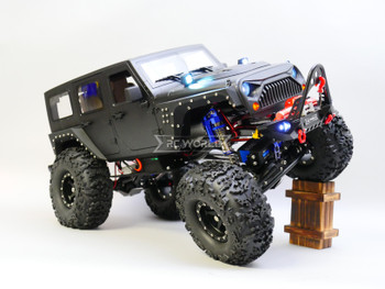 RC jeep Wrangler Black