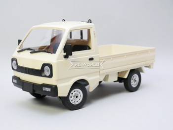 WPL RC 1/10 KEI Small Pickup Cargo Truck RWD *RTR* WHITE
