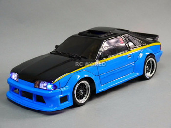 1/10 BODY Shell FORD MUSTANG Fox Body