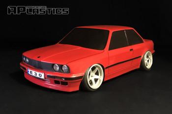 1/10 Body Shell BMW E30 M3 Body Kit 200mm *Clear*