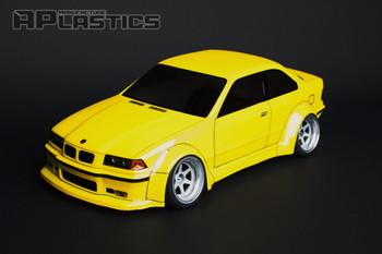 1/10 Body Shell BMW E36 M3 Body Kit 200mm *Clear*