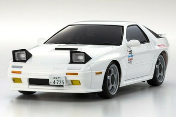 Kyosho RC 1/28 Mini Z MAZDA RX-7 FC3S Savanna Body Shell WHITE