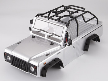 RC 1/10 Truck Body Shell MARAUDER Rock Crawler - SILVER-