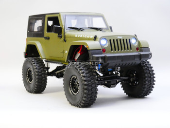 Custom Built 1/10 RC Jeep Wrangler SWB Short Wheel Base Crawler 11.1V *RTR*