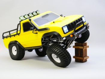 1/10 RC Truck Pick Up Rock Crawler 4x4 RTR 313mm Yellow