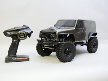 1/10 RC Jeep Wrangler 4 Door Rock Crawler RTR Gray
