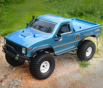 RGT 1/10 RC Truck Pick Up Rock Crawler 4x4 RTR 313mm Blue