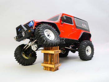 RC  Jeep Wrangler 2 Door Rock Crawler RTR  Red