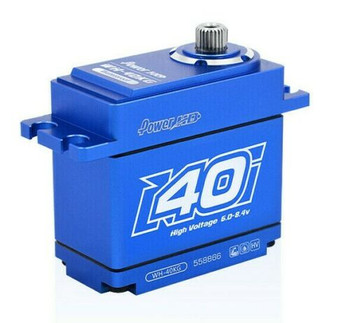 RC 1/10 Metal Gear Waterproof SERVO Coreless High Torque 40KG