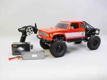 RC 1/10 Gmade BOM Trail Truck Rock Crawler 4X4 Truck 11.1V *RTR* -WATERPROOF-