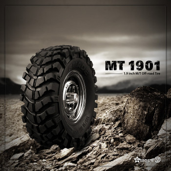 RC 1/10 Scale Truck TIRES WHEELS 1.9 ROCK CRAWLER TRUCK Wheels MT1901