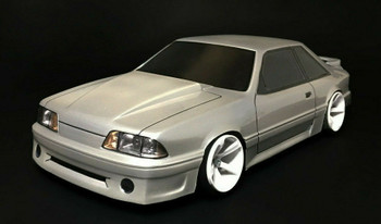 1/10 BODY Shell 1990 FORD MUSTANG GT Body 200mm *Clear*