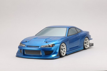 Yokomo 1/10 RC Car Body Team TOYO with GP SPORTS S15 SILVIA (SD-TY15B)