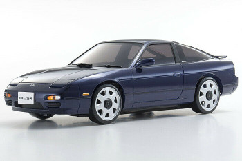 Kyosho Mini Z Body Shell NISSAN 180SX Blue ASC MA-020