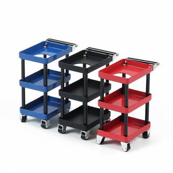 1/10 Scale Parts RACK Tool Maintenance CART W/ Wheels METAL -BLUE-