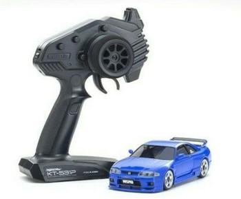 Kyosho RC Mini Z NISSAN SKYLINE NISMO GTR R33 AWD -RTR- BLUE
