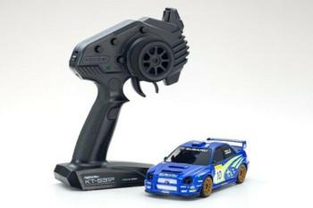 Kyosho RC Mini Z SUBARU IMPREZA WRC 2002 AWD -RTR- BLUE
