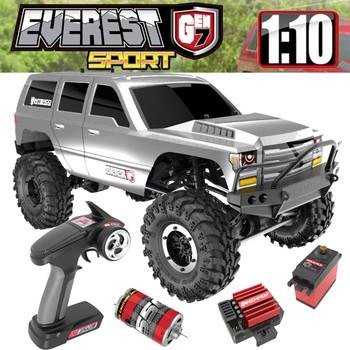 1/10 Everest Gen7 Sport 4WD Crawler Brushed RTR -SILVER -