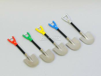RC 1/10 Scale Metal Shovels