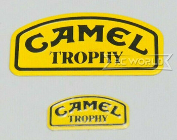 1/10 METAL CAMEL TROPHY BADGE Logo Badge For Defender -Large -
