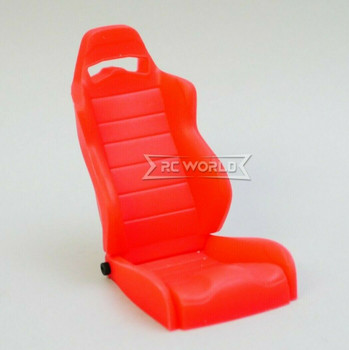1/10 Scale Sport Seat Racing Bucket Recline 1 Seat - RED -