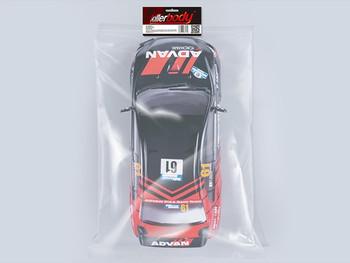 1/10 RC Car BODY Shell MITSUBISHI EVOLUTION Lancer Evo X  ADVAN 190mm *FINISHED*  #48130