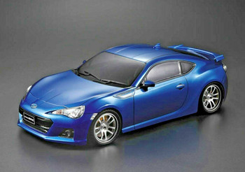 1/10 RC Body Shell Toyota 86 BRZ  w/ Light Buckets BLUE -Finished-