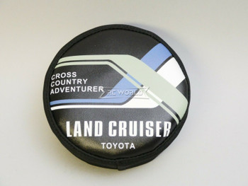 1/10 Toyota Land Cruiser Spare Tire Cover For Trucks 110mm