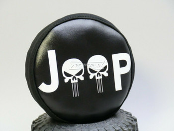 1/10 Jeep Spare Tire Cover For Trucks 110mm